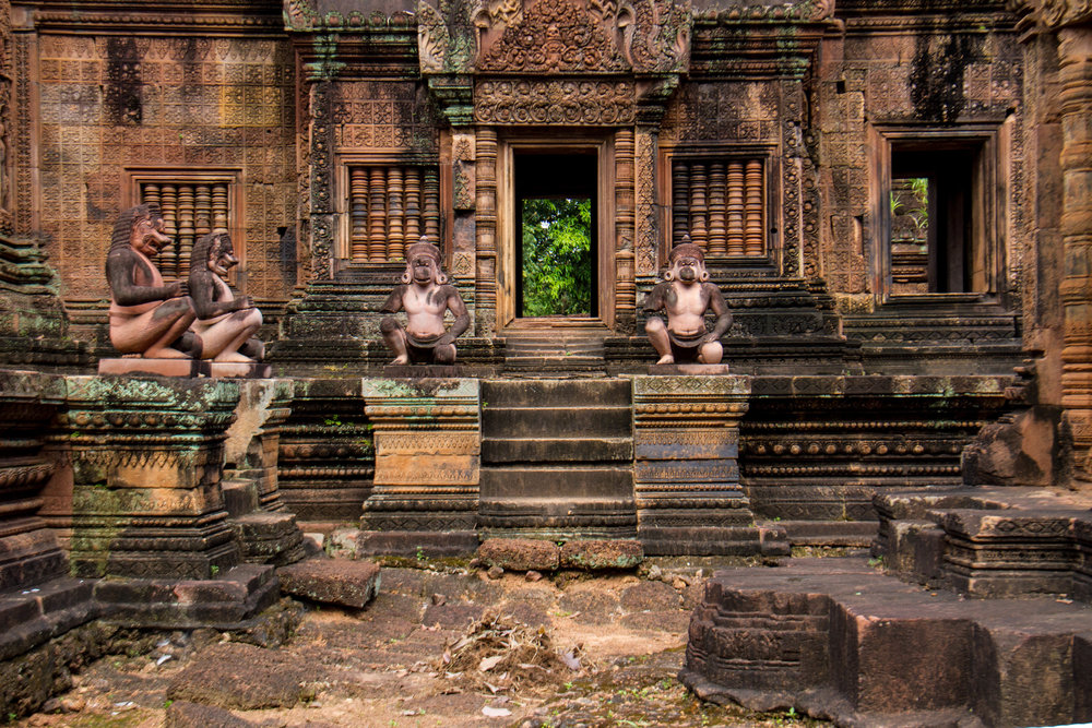 Figure 15: Inner Enclosure of  Banteay Srei.