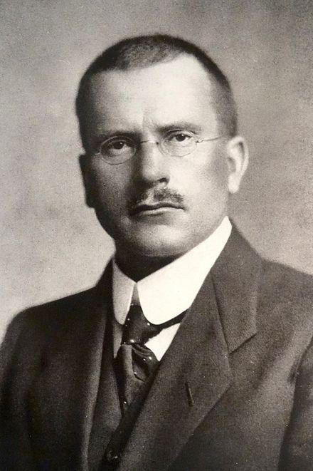 Portrait of Carl Gustav Jung, unknown date.  Born: 26 July 1875 Kesswil, Thurgau, Switzerland. Died 6 June 1961Küsnacht, Zürich, Switzerland.