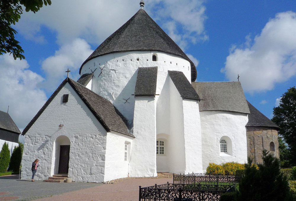 FIG #04: Østerlars Church on Bornholm is one of four round churches believed to have doubled as astronomical observatories.