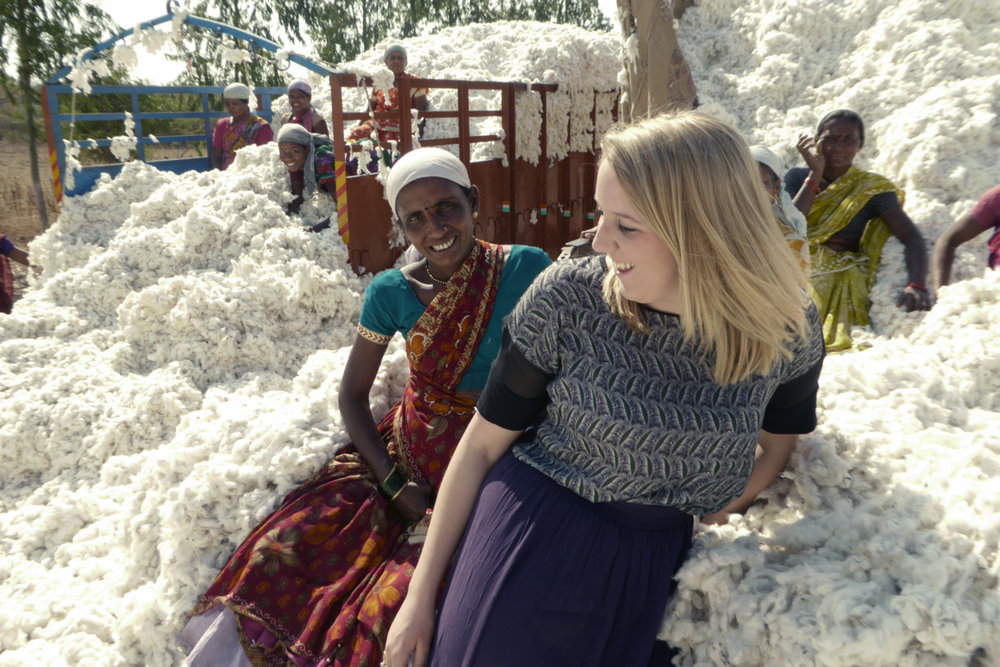 Charlotte Instone, founder Know The Origin, Ethical and Sustainable Fashion Brand