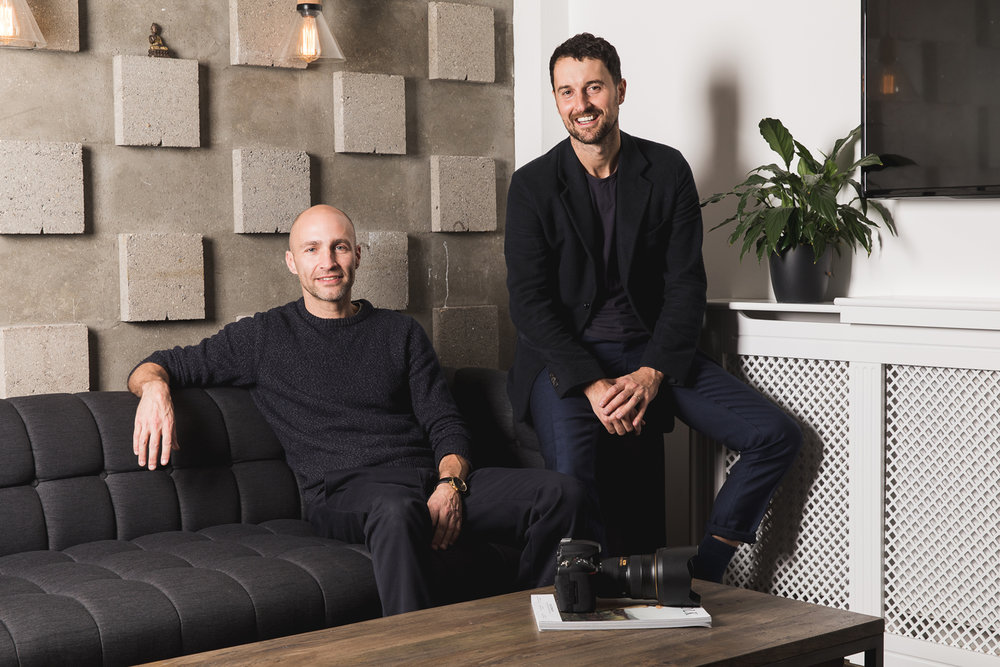 Norv Bell and Jonny Sydes, Co-founders The Bureau