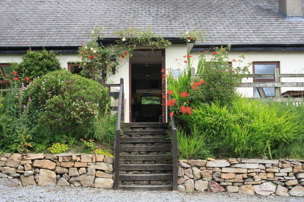 The very welcoming doorway at Tíg Roy