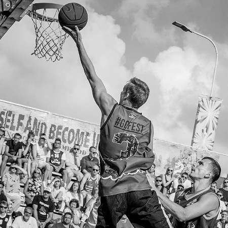 Ghetto Basket turnīrs -