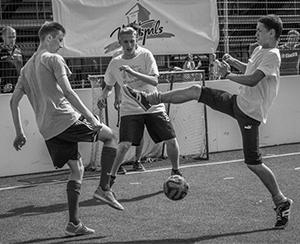 Ghetto Football tournament -
