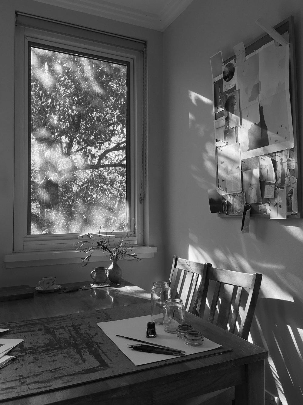 4.  Artist Studio of Sydney-based Painter, Dana Trijbetz.  Image 1.jpg