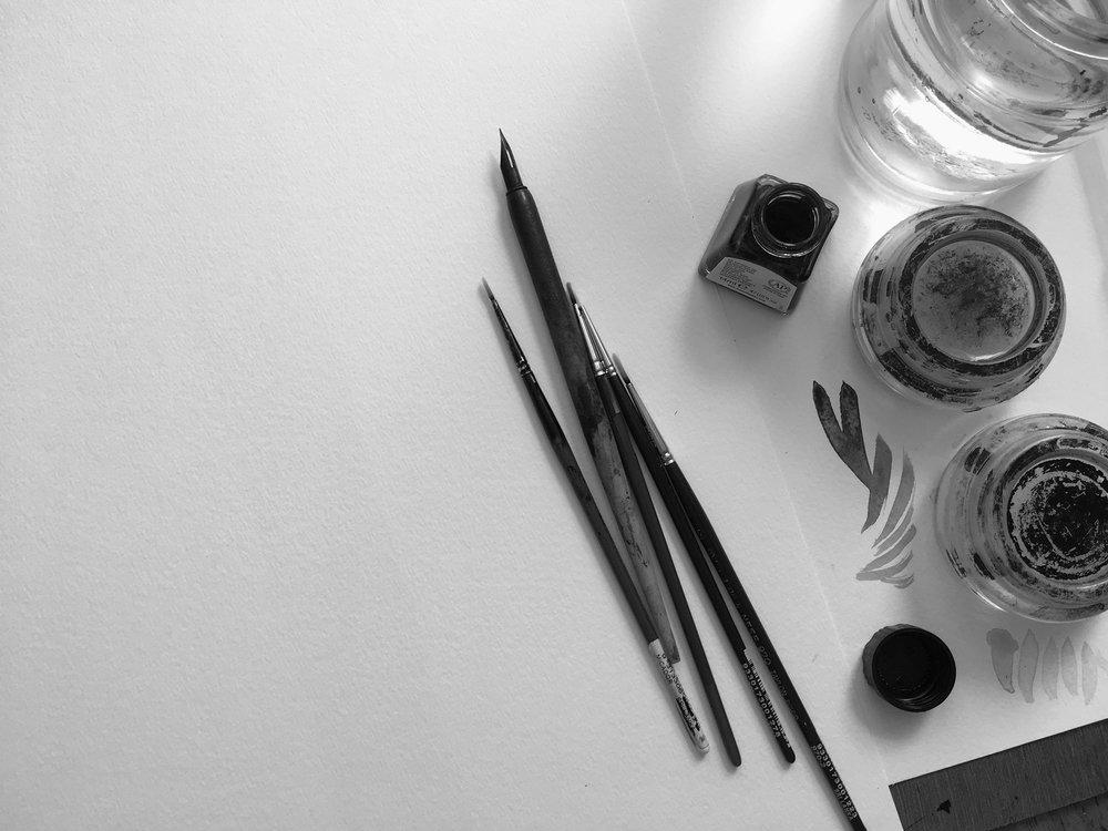 2.  Artist Materials, Sydney-based Painter, Dana Trijbetz.jpg