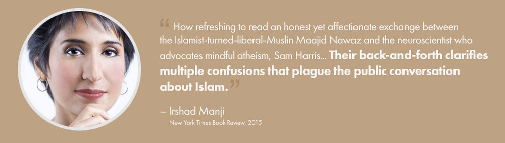 Irshad Manji, New York Times Book Review, 2015 – Testimonial