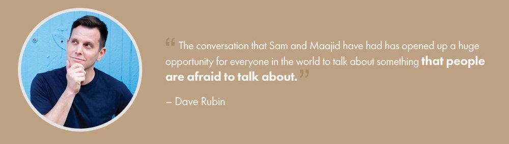 Dave Rubin – Testimonial