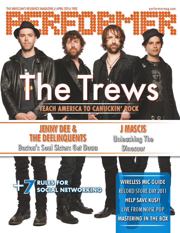 The Trews - Performer Magazine