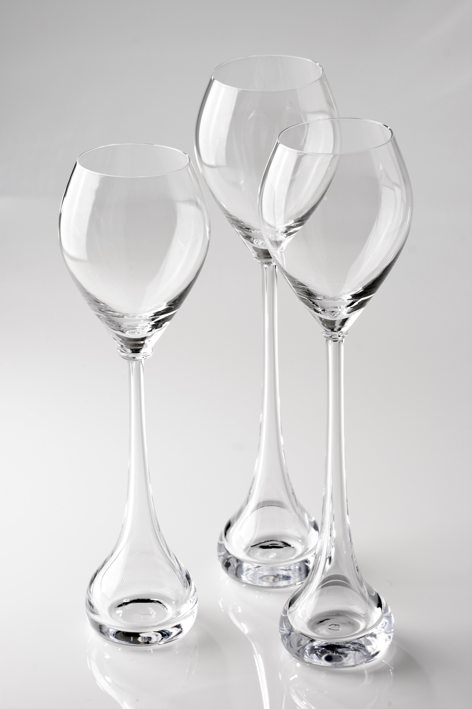 Gaia champagne glass 2014  collaboration with Maria Jutila