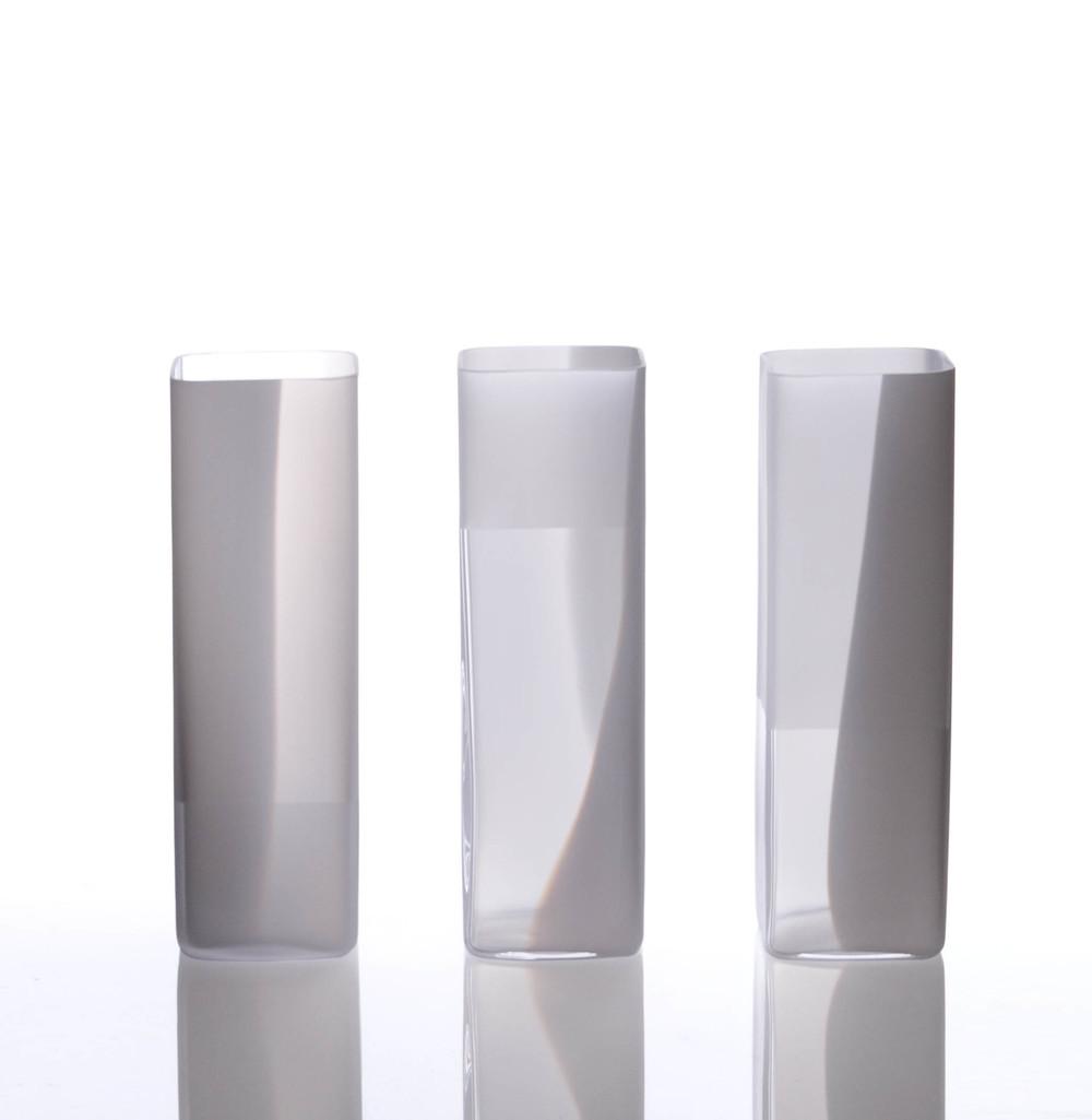 Log vase  20 cm