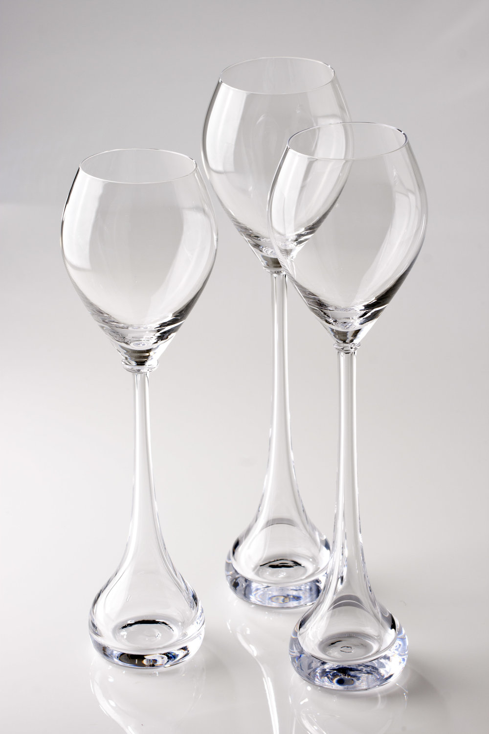 Gaia champagne glass // design Helmi Remes and Maria Jutila