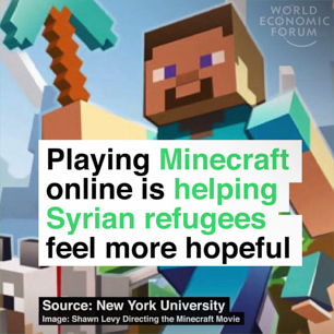 Playing games online is changing the lives of Syria's refugee children
