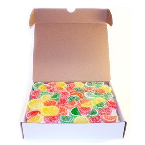 Boston Fruit Slice Mini Bulk Assorted Fruit Slice Candy
