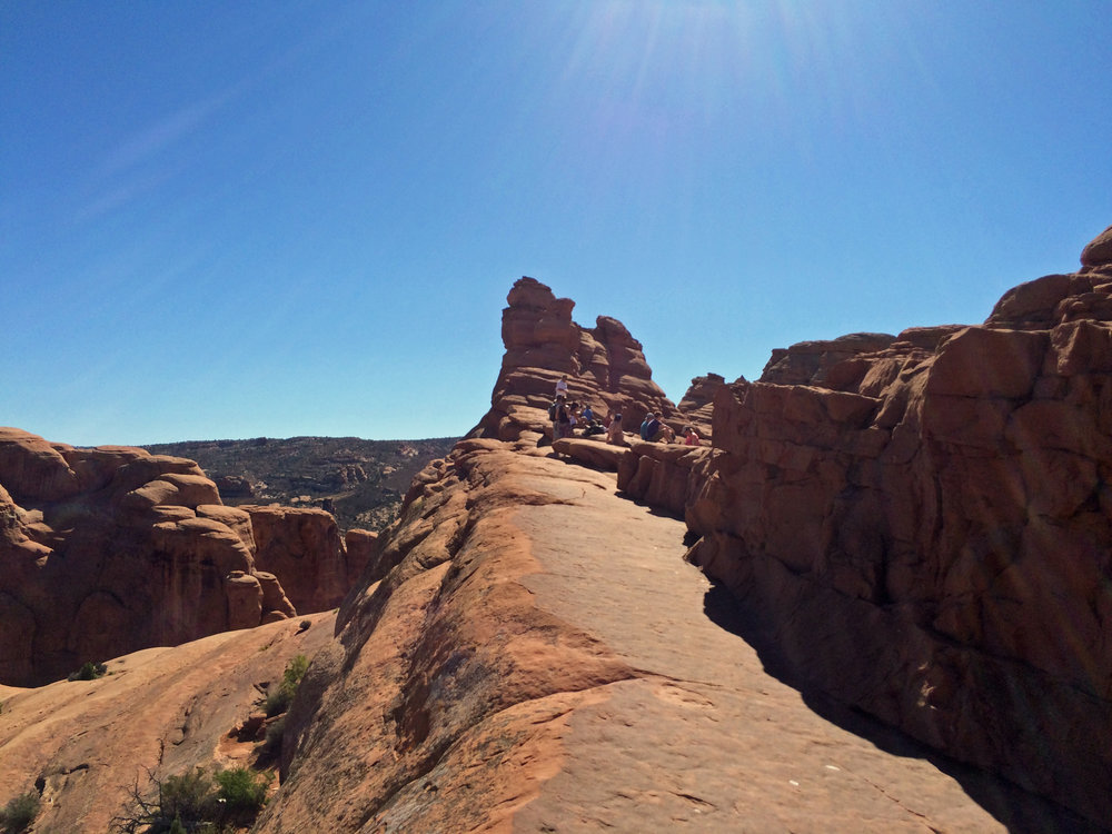 Trail up to Delicate Arch.jpg