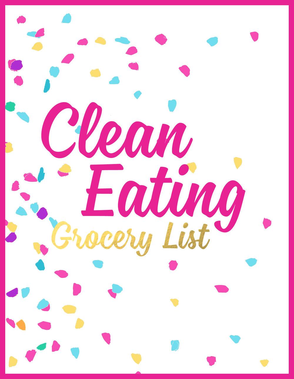 Julia Jackson - Get My Clean Eating Grocery List!
