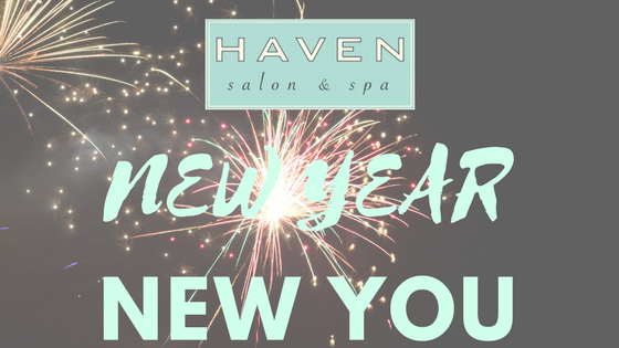 Blog haven salon and spa new year new you treat yourself to a fresh hairstyle color new makeup skincare and nails here are all the great things you can do solutioingenieria Choice Image