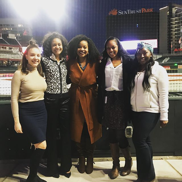 What better way to celebrate International Women's Day than with the best Women in Sports in the Atlanta area! Thanks so much to the @braves for hosting this event!