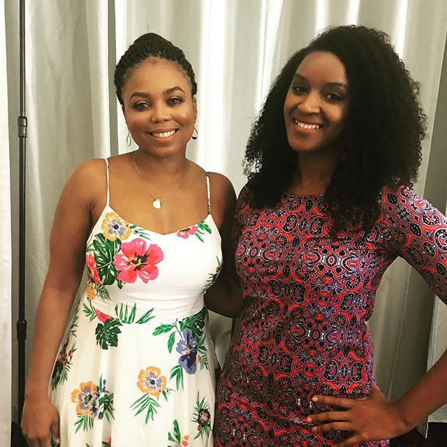 Enjoyed the #TalkBalk Luncheon with @jemelehill covering sports, politics and using your voice. #sistasinsports #womeninsports #istandwithjemele #positivemedia