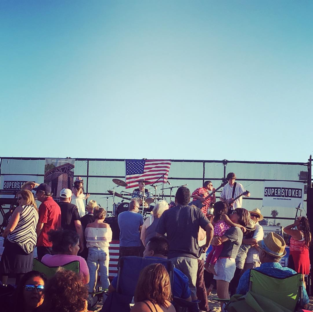 Live music and fun for 4th of July |  Image by:  SBFourth