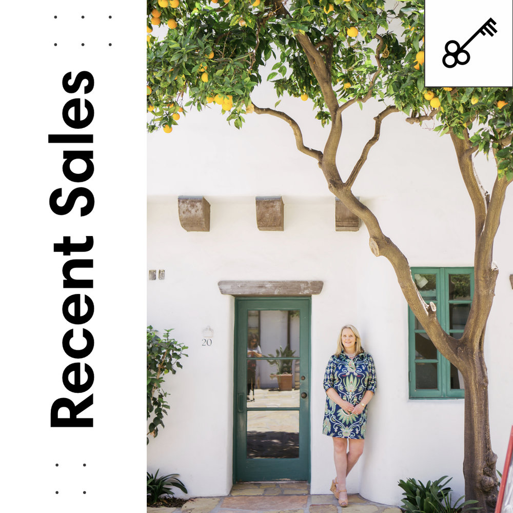 Montecito Lifestyle Recent Sales