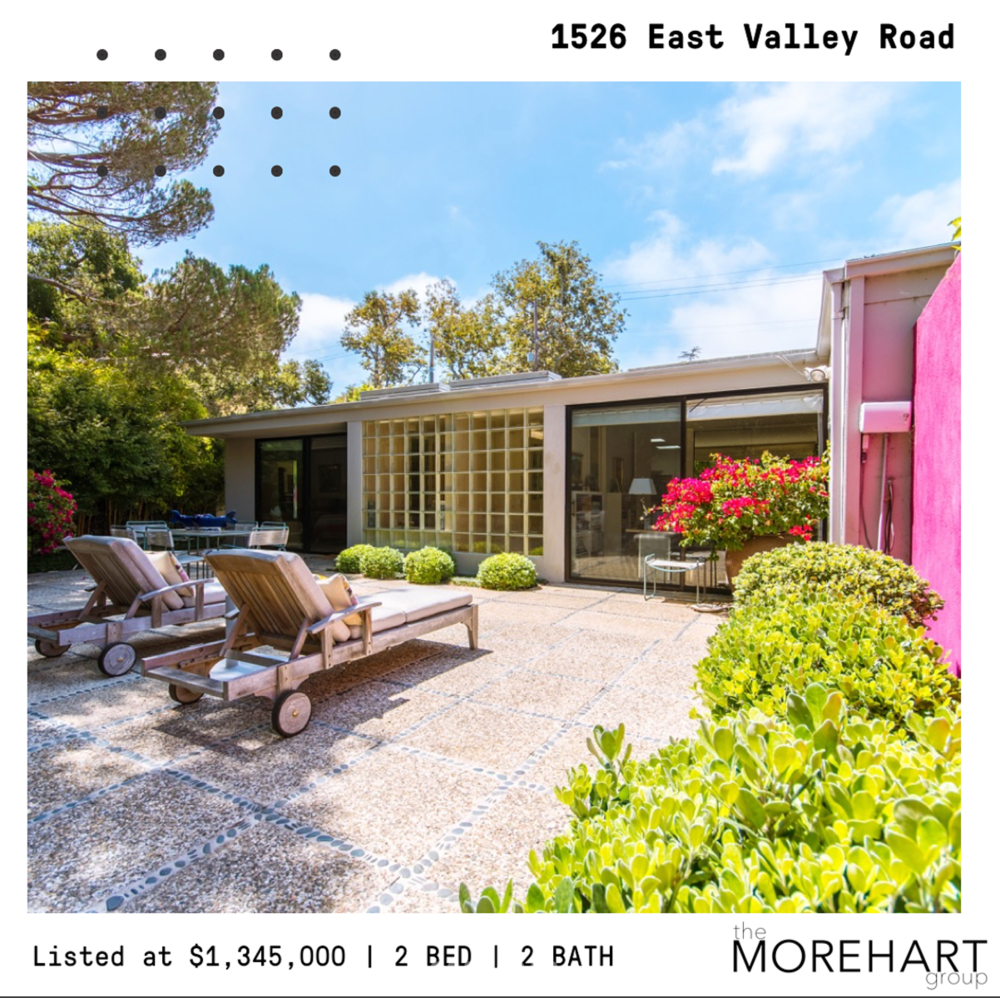 1526 East Valley Road, Montecito California - SOLD by Montecito Lifestyle