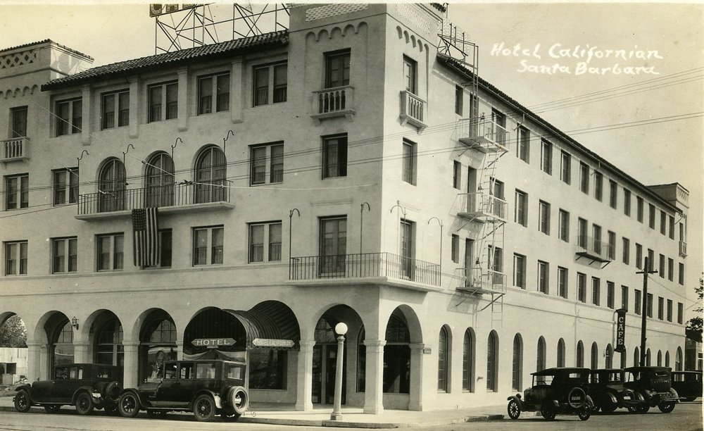The hotel has been built to include the original façade of the 1925 Hotel Californian || Image: Hotel Californian