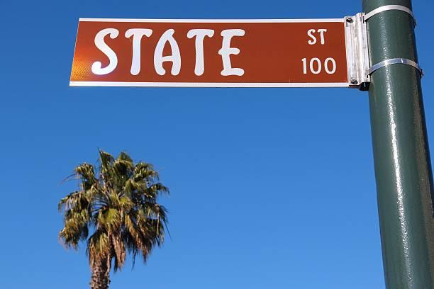 State Street Sign Santa Barbara | Image: Stock Images