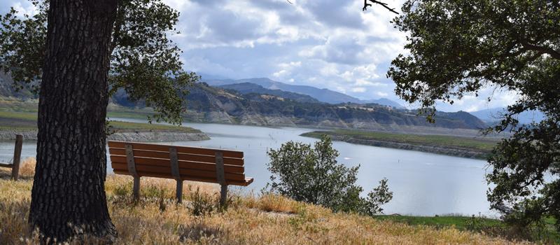 Cachuma Lake Bench