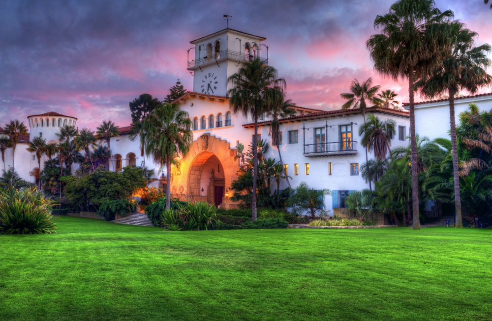 Santa Barbara Courthouse Sunken Garden | Image: Cheshire Cat Inn