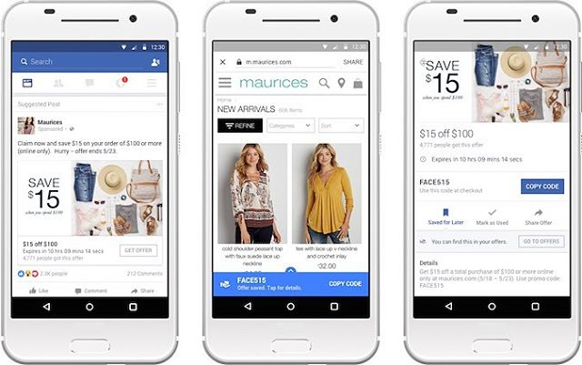 New Facebook feature will make it easier for people to find relevant offers on a Page without having to scroll down through previous posts, via @socialmediatoday -------------------------------------------#Facebook #smm #ads