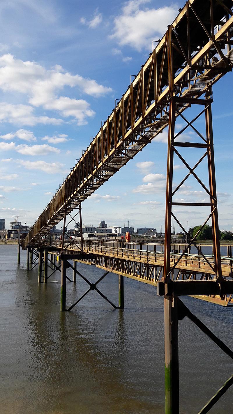 Eleanor Pritchard - Aggregates yard - wharf.jpg