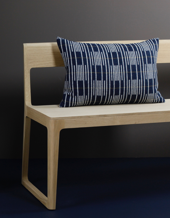 Eleanor Pritchard - Isokon Portsmouth bench with Signal cushion - photo by Elliott Denny.jpg
