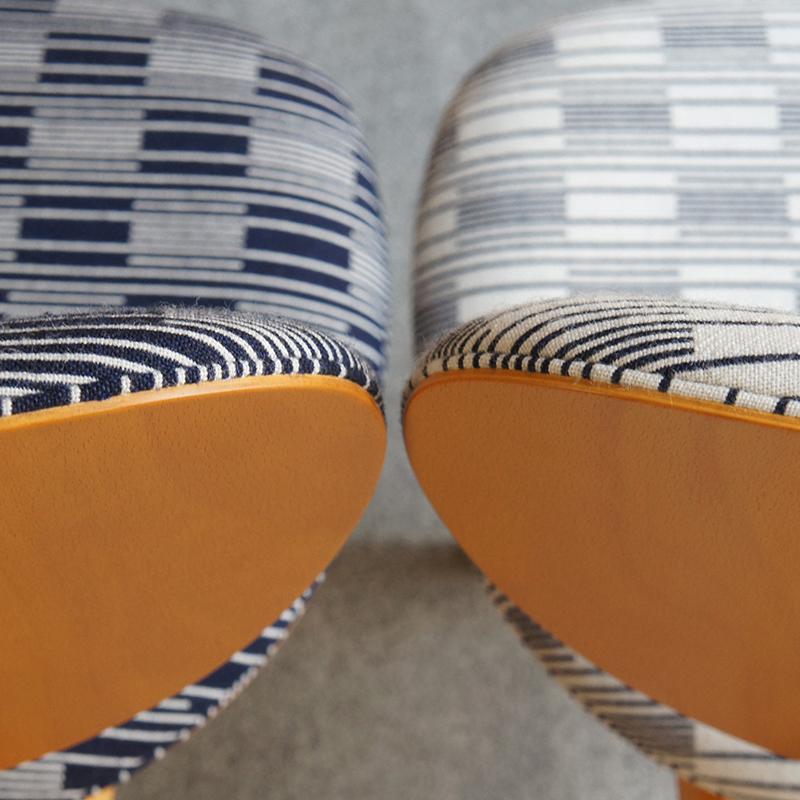 Daisaku_Choh_Persimmon_chairs_by_Metrocs_with_Wrekin_fabric_by_Eleanor_Pritchard_Wrekin_2_square.jpg