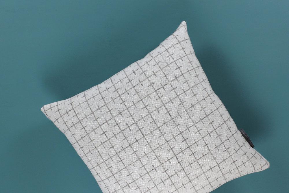Sourdough cushion - white face