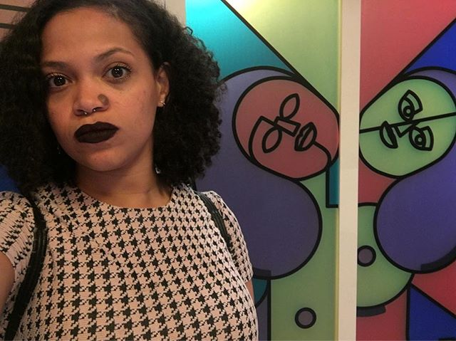 This Mac lipstick has me in my #teenageFeels #29rooms @refinery29