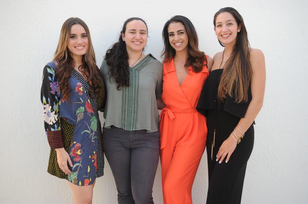 Alexandra Muinos, Daniela Muinos, Michelle Setty, & Angelina Setty.jpg