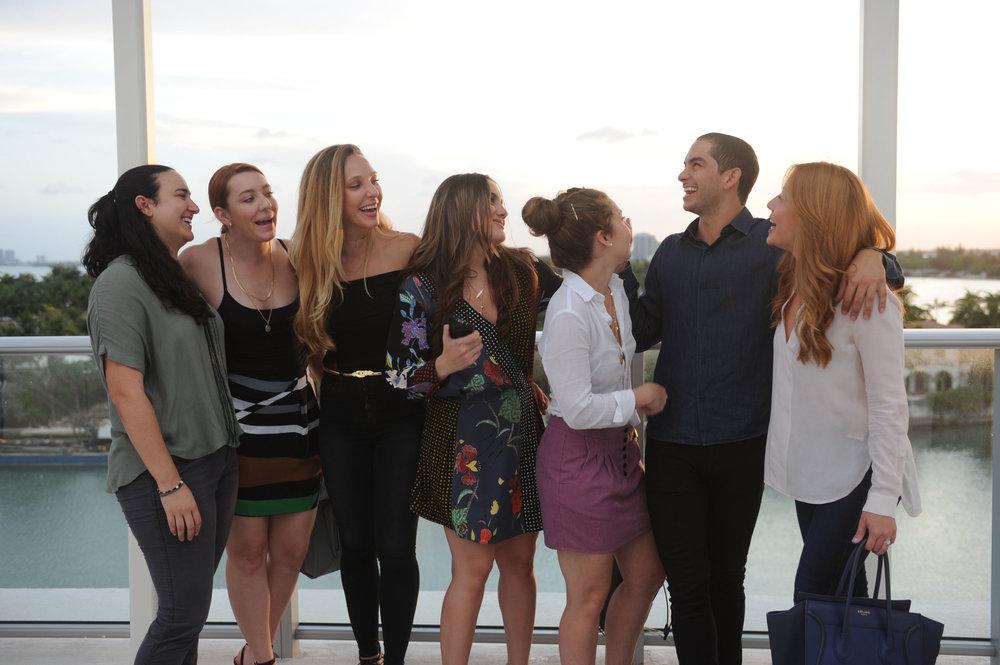 Daniela Muinos, Monica Fuentes, Alexandra Gonzalez, Alexandra Muinos, Victoria Fuentes, Chris Menendez, & Mari Gonzalez1.jpg