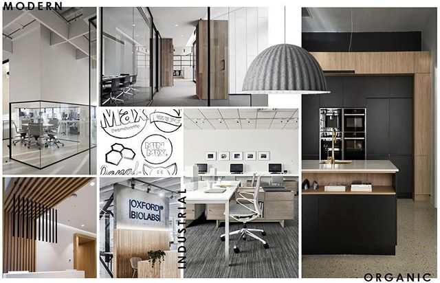 Industrial sophistication in the workplace #moods . . .  #interiordesignmiami #workplacedesign #workspace #stilo #stilodesign #stilointeriors #commercialdesign #livinginstilo #stilomiami #corporatedesign