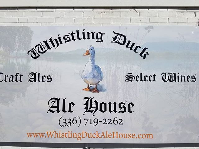 Stop in at the Whistling Duck and grab a pint while we wait for paddling season.