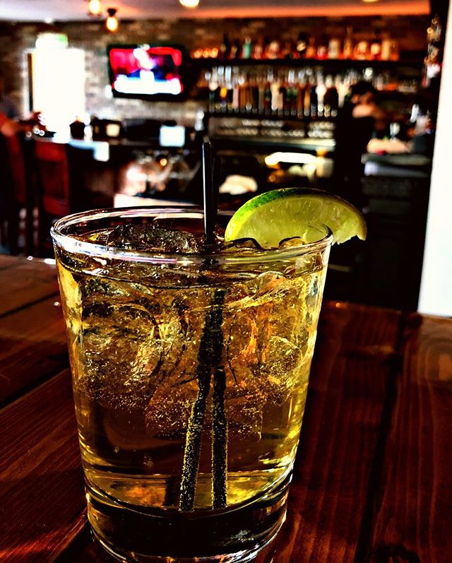 In honor of the storm, come get a Dark & Stormy tonight at BrickHaus! #mightymighty #happyhour #arlingtonva #windstorm