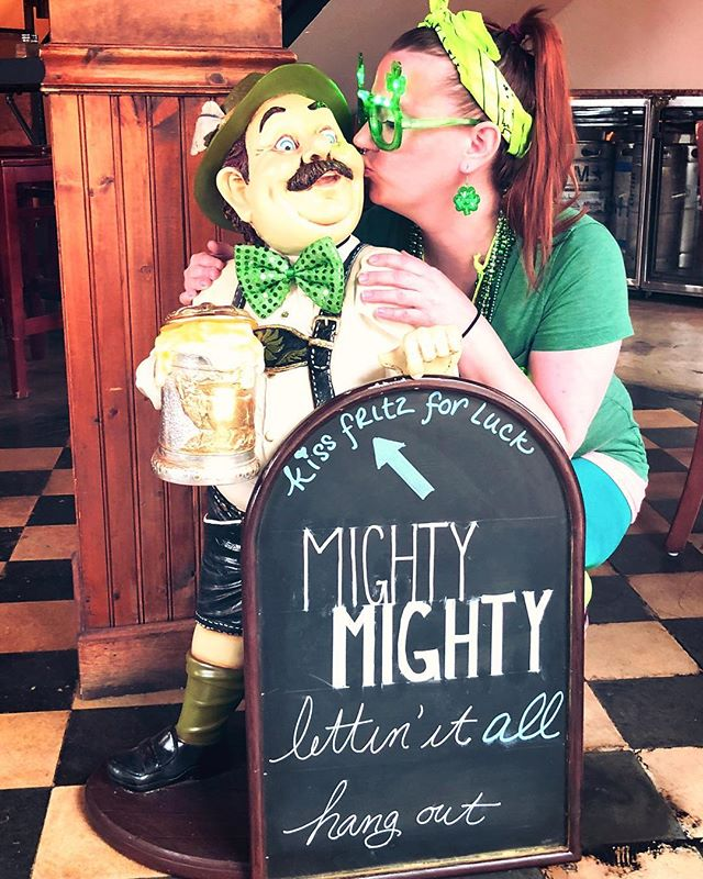 Happy St.Patrick's Day! Join us at BrickHaus to celebrate.  #mightymighty #allthebeers #stpatricksday #arlingtonva @justcallmetheturnupqueen