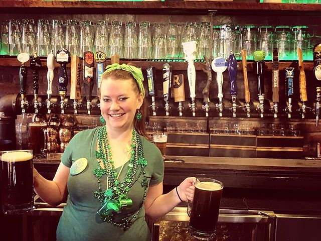 The celebration is underway...join us at BrickHaus! #mightymighty #allthebeers  #stpatricksday #arlingtonva  @justcallmetheturnupqueen
