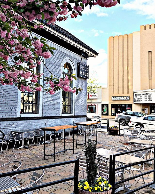 A perfect day for a beer on the patio... #mightymighty #allthebeers #arlingtonva #columbiapike #finallythepatio