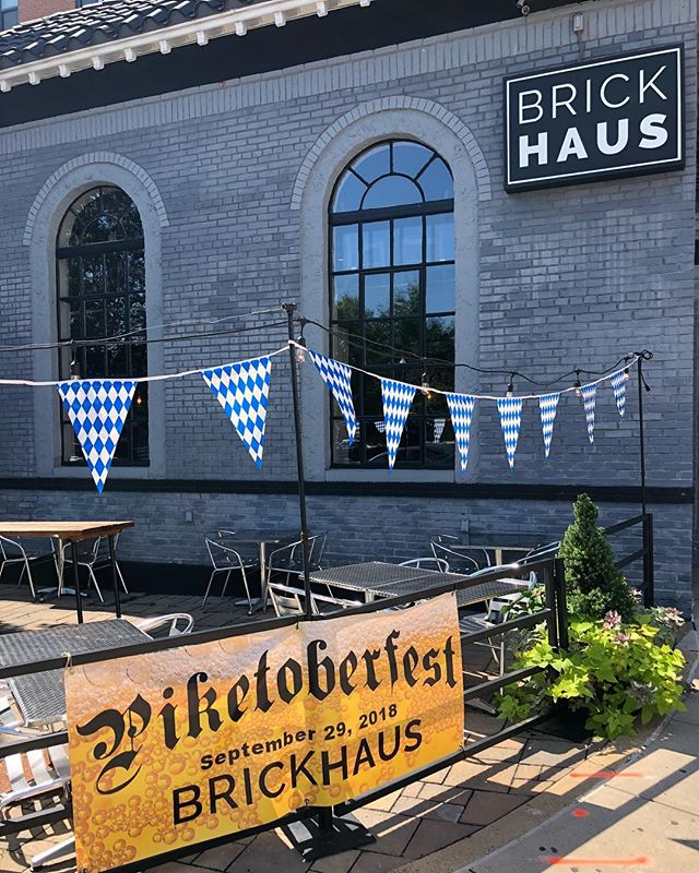 It's a beautiful day for Piketoberfest!! Drink and food specials all day and night. See you soon! #allthebeers #Piketoberfest #ourhaus