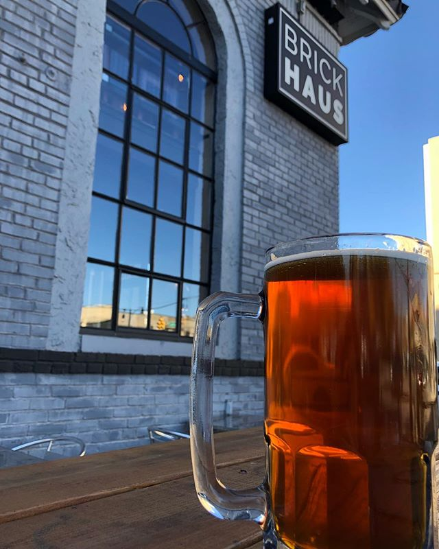 Come spend your extra hour with at liter at BrickHaus! We tapped TEN new beers yesterday. Kat, Mike and Elena are here- later Maison and Denys join the fun! #cheers #thegangsallhere #allthebeers #ourhaus #novabeer