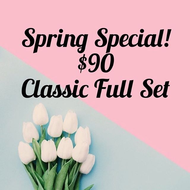 Jump into spring with a longer, fuller Lashes! • • To book please call the salon at 216-570-4656 or DM for more info. $10 extra for Volume add-on. 🌷🌷 • • #springspecial #spring #april #lashes #extensions #lashlift #novalash #pmu #brows #browtattoo #microblading #lashlove #rockyriversalon