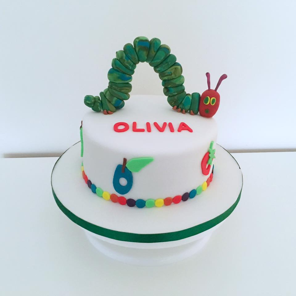 Hampstead Bakery Hungry Caterpillar Hampstead Life Cake