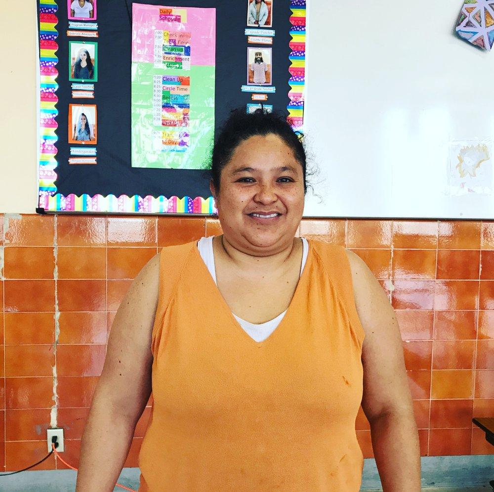 Olga Sánchez- Presidenta de ELAC