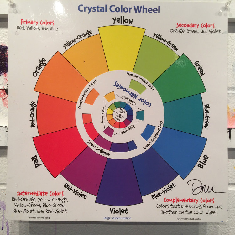 The Great Thing About Color Wheel Is That Someone Centuries Ago Figured Out How All Colors Worked Together So Today We Dont Have To